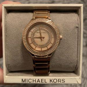 Michael Kors rose gold watch-Brand New